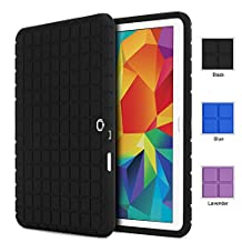 Poetic Samsung Galaxy Tab 4 10.1 Case [GraphGrip Series] - Protective Silicone Skin Case for Samsung Galaxy Tab 4 10.1 (SM-T530 / SM-T531 / SM-T535) Black