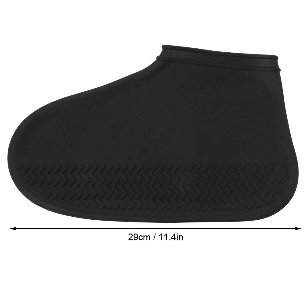 Bnineteenteam 1 Paire de Couvre-Chaussures imperm/éables Couvre-Pluie r/éutilisables en Silicone pour Hommes Femmes Enfants L