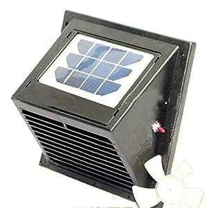 Amazon.com: Solatron Norestar Wall Solar Powered Vent/Fan