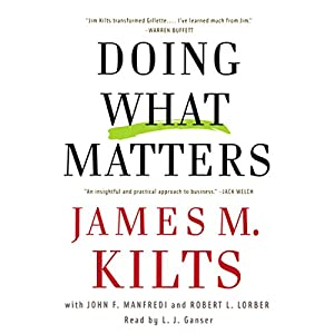 Doing What Matters Audiobook
