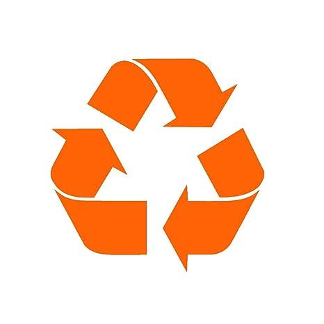 """Reciclar símbolo V1 – Adhesivo de vinilo por stickerdad – tamaño: 5, """""""
