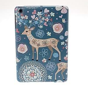 CL - Patrón de los ciervos de Sika de plástico para el iPad mini / mini 2