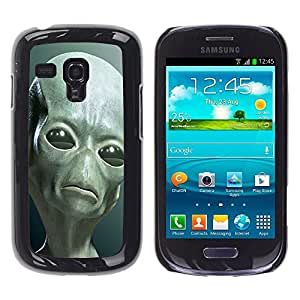 - Skull Devil Diablo Extraterrestrial - - Fashion Dream Catcher Design Hard Plastic Protective Case Cover FOR Samsung Galaxy S3 MINI 8190 Retro Candy