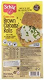 Schar Brown Ciabatta Rolls 200 g (Pack of 3)