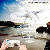 MD Group RC Quadcopter 6-Axis Gyroscope 360° 3D Eversion 2.4 GHz 4CH WIFI FPV Syma X5SW