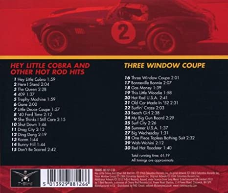 The Rip Chords Hey Little Cobra Other Hot Rod Hits Three