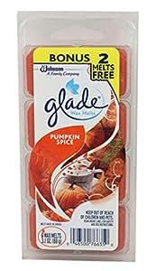 Glade Wax Melts Pumpkin Spice, 8 Count