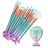 Eye Brush Set, Tenmon 11 Pcs Mermaid Eyeshadow