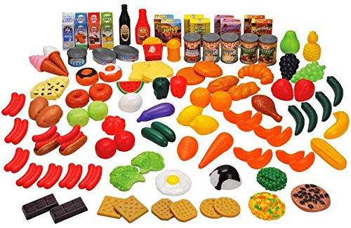 104 Piece Play Food Set by Chad