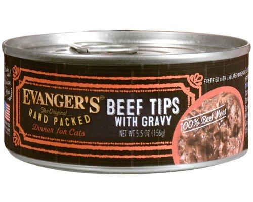 Evangers Beef Tips with Gravy - 24x5.5 oz
