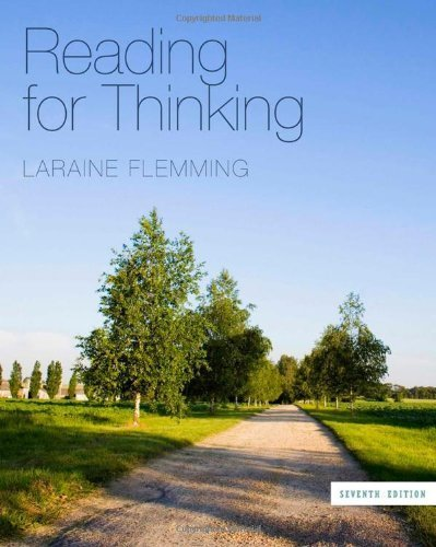 Reading for Thinking 7th edition by Flemming, Laraine E. (2011) Paperback