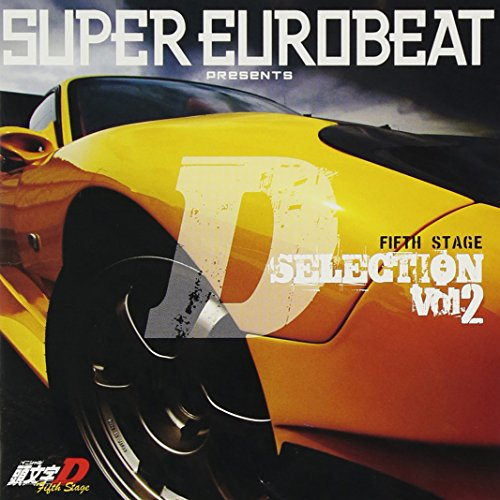 Animation Soundtrack - Super Eurobeat Presents Initial D Fifth Stage D Selection Vol.2 [Japan CD] AVCA-62379