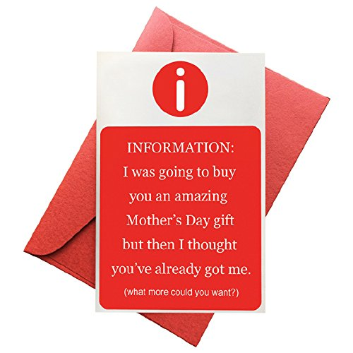 Mdc Card - Funny Mother's Day Card - I'm the Amazing Gift