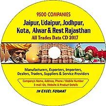 Jaipur, Udaipur, Jodhpur, Kota, Alwar & Rest Rajasthan Companies Data