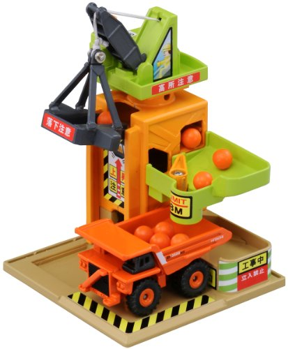 タカラトミー(TAKARA TOMY) Tomica Tomica Town Play Charge Series Construction Site Tower Crane