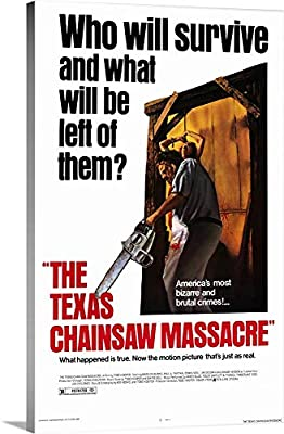 The Texas Chainsaw Massacre 1974 - Canvas Wall Art Gallery Wrapped Ready to Hang