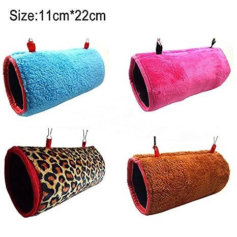 Symboat hamaca para mascotas hamaca suspendida cama juguete caliente nido casa para rata ratón loro ardilla: Amazon.es: Productos para mascotas