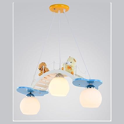 Amazon.com: Children toy modern contracted children bedroom lamps ...