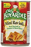 Chef Boyardee Mini Ravioli 8 x 425g