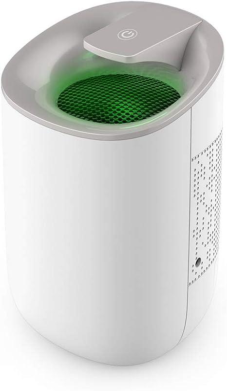 Purificador De Aire Deshumidificador De 600 Ml, Elimina La Humedad 300 Ml Por Día, Ultra Silencioso, Para Dormitorio ...