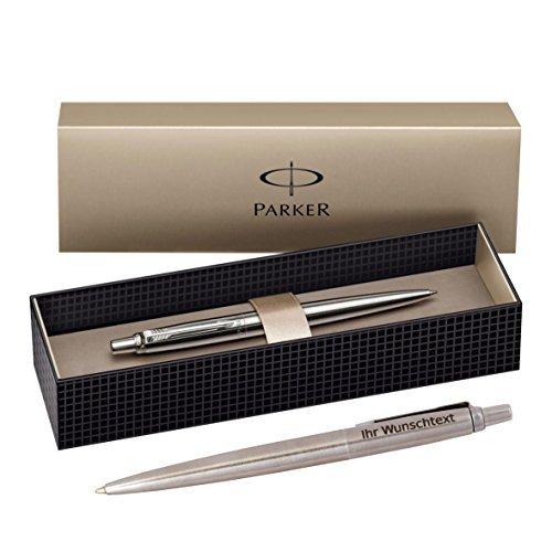 Parker Kugelschreiber Jotter K61 C.C., Edelstahl, inkl. Laser-Gravur