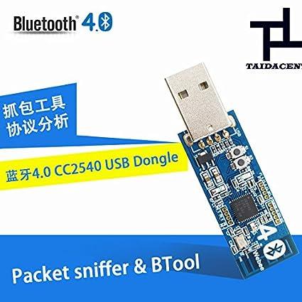 Amazon com: Taida Bluetooth 4 0 USB Dongle Module CC2540 Low Power
