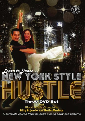 Learn to Dance New York Style Hustle Three DVD Set