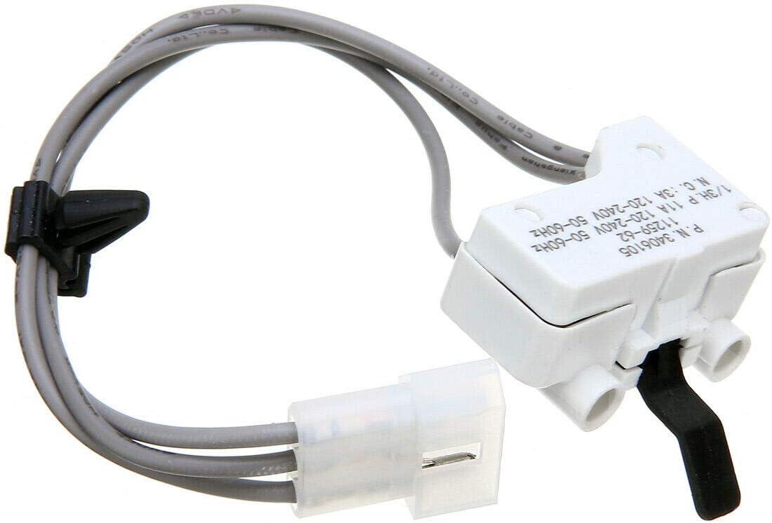 3406105 Dryer Door Switch For Whirlpool & Kenmore dryers 3406104 WP3406105