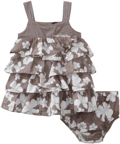 Calvin Klein Baby Girls' Print Dress Set