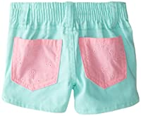 U.S. Polo Assn. Baby and Girls' Eyelet P...