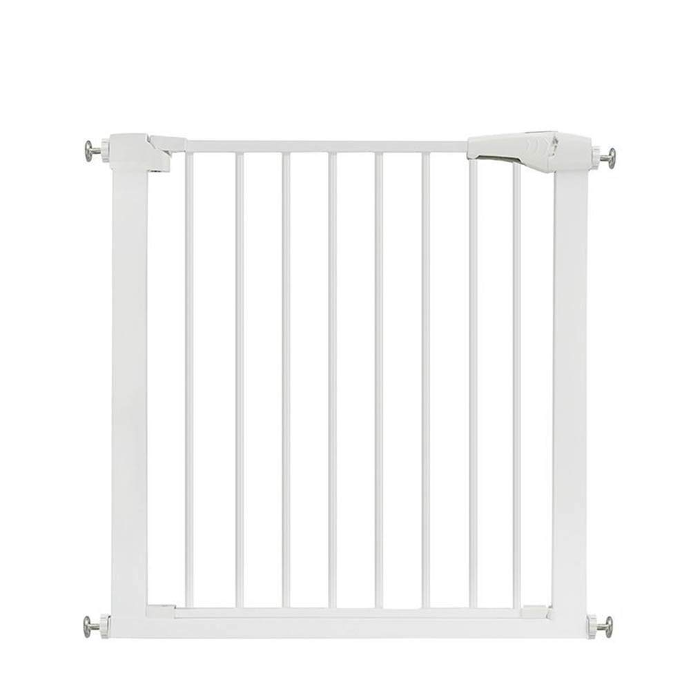 +80cm Auto Close Stair Gate Pet Extending Metal Safety Gate 3 in 1 Playpen,fireguard, and Room Divider 75 to 82cm(+7-80cm) Without Drilling (Size   +80cm)