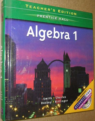 Algebra 1 (Teacher's Edition) (Teacher's Edition): Stanley A ...
