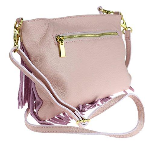 Girly HandBags Gina - Bolso bandolera Mujer - rosa