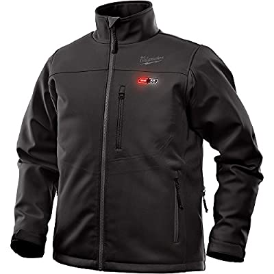 Milwaukee Heated Jacket M12 12V Lithium-Ion Front and Back Heat Zones - Battery and Charger Not Included -