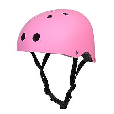 Unisexe Casque Protecteur pour Cyclisme Vélo Scooter Ski Patinage à Roulettes Randonnées Escalade Sport