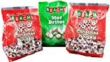 Brach's Christmas Candy Peppermint Nougats and Star Brites Mints for Xmas Best Bulk Variety Pack Assortment Boys Girls Men Women - Perfect Sweet Gift for Holiday Parties Events - 3 Pack