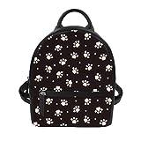 Small Shoulder Backpack for Women Girls Cute Dog Printed Best Mini Rucksack