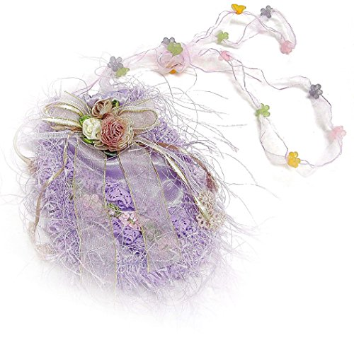 Linpeng SJW Purple Little Decorated Ribbon product image