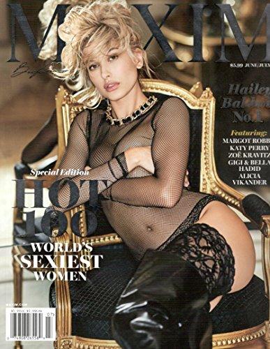 Maxim Magazine (June/July, 2017) Hailey Baldwin Cover