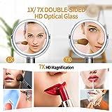 Beautifive Makeup Mirror, Double Sided Vanity