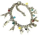 BlingSoul Star Trek Charm Bracelet Disney Merchandise in Silver
