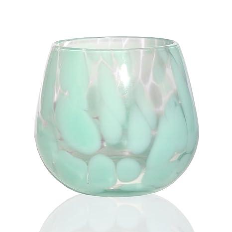 34f04ef58bc48 Amazon.com | Viridian Bay Ocean Stemless Wine Glass Set of 6: Old ...