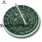 NauticalMart 20th Wedding & Anniversary Sundial Gift