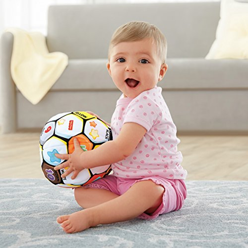 51e6huhmCmL - Fisher-Price Laugh & Learn Singin Soccer Ball