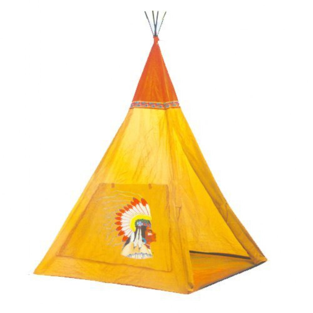 amazon com indian teepee tripod play tent kids hut children house