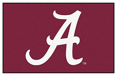Alabama Utility Mat 5' x 8' ft - Alabama Crimson Tide Home Decor - Alabama Utility Mat