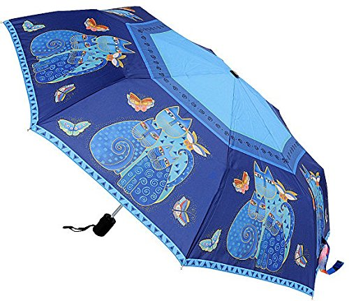 laurel-burch-compact-umbrella-canopy-auto-open-close-42-inch-indigo-cats