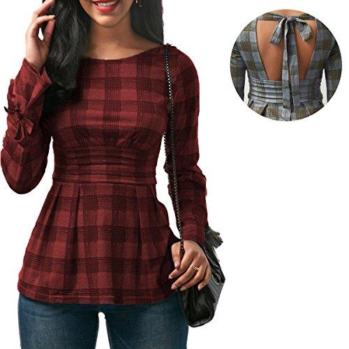 Open Back Tie Dress - 2
