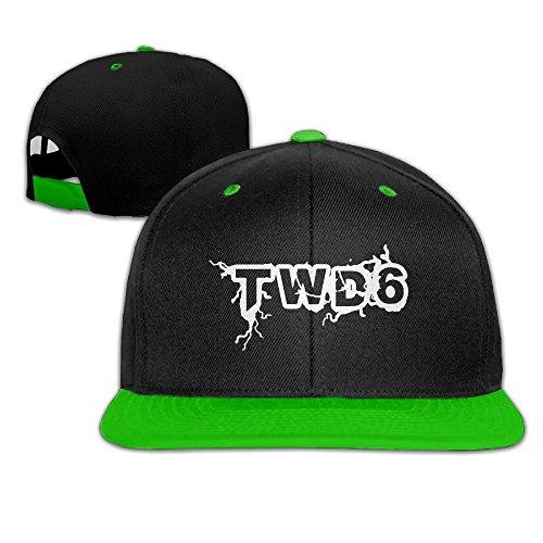 American Horror TV TWD6 Hip-Hop Baseball Hats One Size KellyGreen (Exo Walker)