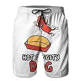 hot dog vendor tray - Hot Dog Cool 2017 Man Beach Short Pants